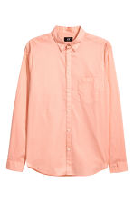 Cotton shirt Regular fit - Apricot - Men | H&M CN 2
