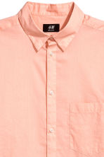 Cotton shirt Regular fit - Apricot - Men | H&M CN 3