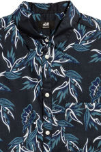 標準剪裁棉質襯衫 - Dark blue/Patterned - Men | H&M 3