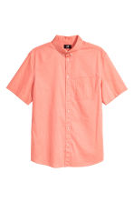 Short-sleeve shirt Regular fit - Apricot - Men | H&M 2