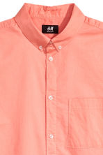 Short-sleeve shirt Regular fit - Apricot - Men | H&M 3