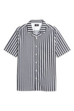 標準剪裁休閒襯衫 - White/Dark blue/Striped - Men | H&M 2