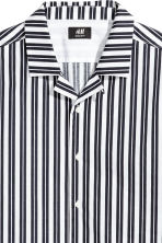 標準剪裁休閒襯衫 - White/Dark blue/Striped - Men | H&M 3