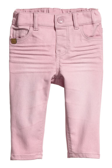Superstretch trousers - Pink - Kids | H&M 1