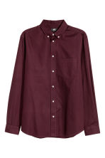 Oxford shirt Regular fit - Burgundy - Men | H&M CN 2