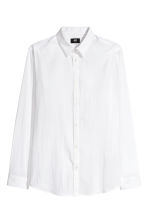 Stretch Shirt Slim fit - White - Men | H&M CA 2