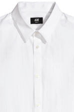 Stretch Shirt Slim fit - White - Men | H&M CA 3