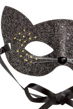 Glittery fancy dress mask - Black/Glittery -  | H&M 2