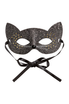 Glittery fancy dress mask
