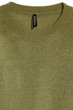 Knitted jumper - Green - Ladies | H&M 3