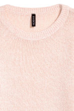 Knitted jumper - Powder pink - Ladies | H&M CN 3
