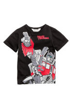 Printed T-shirt - Black/Transformers - Kids | H&M 2