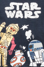 Printed T-shirt - Dark blue/Star Wars - Kids | H&M 3