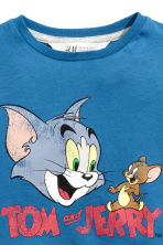 Printed T-shirt - Blue/Tom and Jerry -  | H&M CN 2