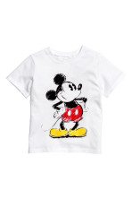 White/Mickey Mouse