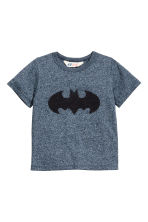 圖案T恤 - Blue/Batman - Kids | H&M 2