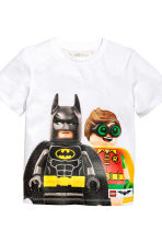 2-pack T-shirts - Grey/Lego - Kids | H&M 4