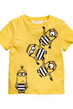 2-pack T-shirts - Yellow/Minions - Kids | H&M CA 4