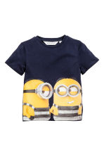 2-pack T-shirts - Yellow/Minions - Kids | H&M CA 3