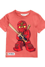 2-pack T-shirts - Blue/Lego - Kids | H&M 4