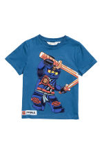 2-pack T-shirts - Blue/Lego - Kids | H&M 3