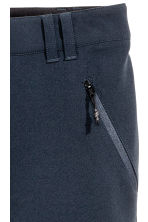 Outdoorbroek - stretch - Donkerblauw - DAMES | H&M NL 3