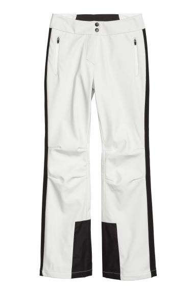 Ski trousers - White/Black - Ladies | H&M