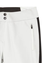 Ski trousers - White/Black - Ladies | H&M IE 3