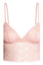 2-pack lace bralettes - Blue-grey - Ladies | H&M 4