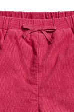Lined pull-on trousers - Raspberry red - Kids | H&M 2
