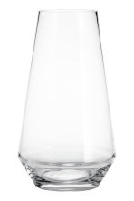 Glass vase - Clear glass - Home All | H&M CN 2