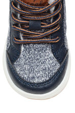 Warm-lined trainers - Dark blue -  | H&M 3