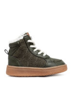 Sneakers foderate - Verde scuro -  | H&M IT 1