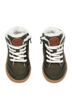 Sneakers foderate - Verde scuro -  | H&M IT 2