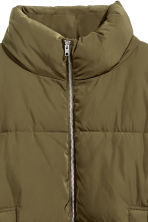 Padded jacket - Khaki green - Ladies | H&M CN 3