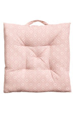 Cotton seat cushion - Light pink - Home All | H&M IE 2