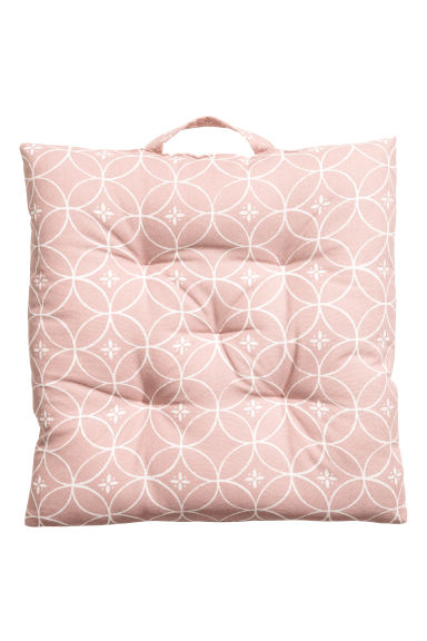 Galette de chaise en coton - Rose clair - Home All | H&M FR