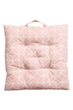 Cotton seat cushion - Light pink - Home All | H&M IE 1