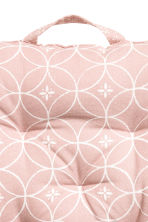 Cotton seat cushion - Light pink - Home All | H&M CN 3