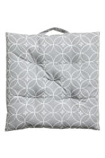 Cotton seat cushion - Light grey - Home All | H&M CA 1