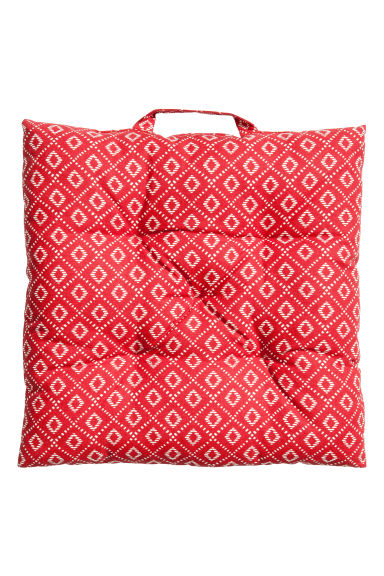 Cotton seat cushion - Red - Home All | H&M GB