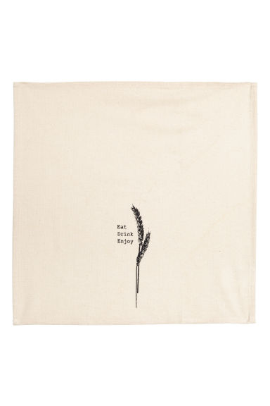 Cotton napkin - Natural white - Home All | H&M IE 1