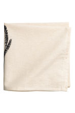 Cotton napkin - Natural white - Home All | H&M CN 2