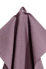 Waffled tea towel - Purple - Home All | H&M CN 2