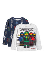 Light grey/Ninjago