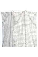 2-pack tea towels - White/Patterned - Home All | H&M CN 1