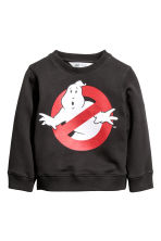 Printed sweatshirt - Dark grey/Ghostbusters - Kids | H&M 2