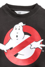 Printed sweatshirt - Dark grey/Ghostbusters - Kids | H&M 3