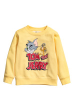 Light yellow/Tom and Jerry