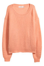 Loose-knit jumper - Peach - Ladies | H&M 2